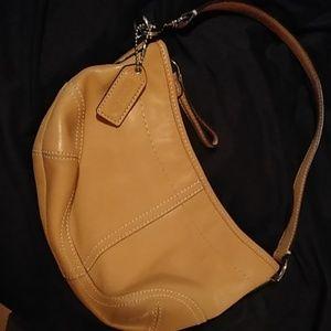 Coach mini hobo bag